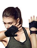 Недорогие -Подъемные перчатки С 2 pcs Микроволокно Встроенные наручные обертки, Регулируется Полная защита от лапы и дополнительный захват, Износостойкий Для