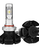 abordables -2pcs 9005 Bombillas 25 W LED Integrado 2500 lm 6 LED Luz de Casco 2018
