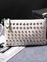 cheap -Women's Bags PU(Polyurethane) Shoulder Bag Crystals Gold / White / Black