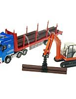 abordables -Petites Voiture Véhicule de Construction / Grue Camion de transporteur / Véhicule de Construction Vue de la ville / Cool / Exquis Métal Tous Enfant / Adolescent Cadeau 1 pcs