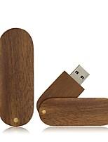preiswerte -Ants 4GB USB-Stick USB-Festplatte USB 2.0 Holz / Bambus Rotierend