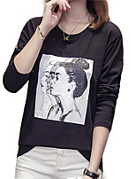 cheap -Women's Going out T-shirt - Portrait