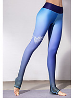 abordables -Mujer Deportivo Legging - Un Color Alta cintura