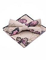 cheap -Unisex Party / Basic Bow Tie - Print Butterfly, Bow