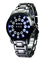 cheap -Men's Sport Watch Quartz Calendar / date / day Alloy Band Digital Fashion Black - Black