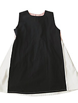 cheap -Kids Girls' Color Block Sleeveless Dress