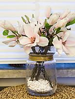 baratos -Flores artificiais 1 Ramo Clássico Europeu / Modern Magnólia Flor de Mesa