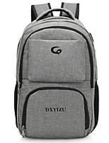 cheap -Unisex Bags Polyester Backpack Zipper Black / Gray / Purple