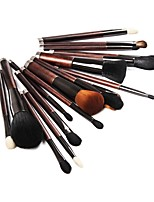 cheap -21pcs Makeup Brushes Professional Skin Care Wool / Fiber Full Coverage Wooden / Bamboo