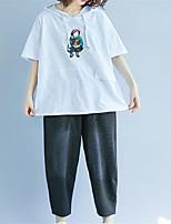 economico -T-shirt Per donna Essenziale Tinta unita