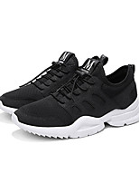 cheap -Men's Canvas Spring Comfort Sneakers White / Black