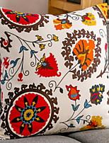 Недорогие -1 штук Полиэстер Монограмма, Цветочный принт Цветы