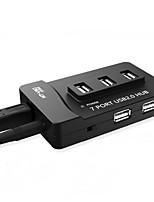 Недорогие -7 USB-концентратор USB 2.0 USB 2.0 С чтения карт (ы) / Защита входа Центр данных