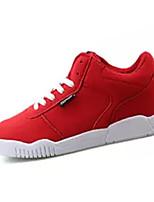 Недорогие -Муж. Полиуретан Весна Удобная обувь Кеды Красный / Синий / Черно-белый