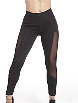 cheap -Women's Sporty Legging - Solid Colored High Waist