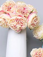 Недорогие -Искусственные Цветы 5 Филиал Классический Свадьба / европейский Пионы Букеты на стол