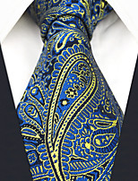 cheap -Men's Party / Work Necktie - Color Block / Paisley / Jacquard