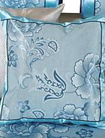 cheap -1 pcs Brocade / Polyester Pillow, Floral Print Flower