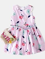 cheap -Kids Girls' Striped Sleeveless Dress