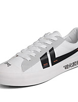 cheap -Men's Canvas Summer Comfort Sneakers White / Black / Red