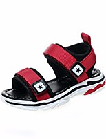 cheap -Boys' / Girls' Shoes PU(Polyurethane) Summer Comfort Sandals for Black / Red