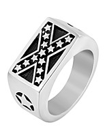 cheap -Men's Sculpture Band Ring - Stainless Steel Punk, Trendy, Hip-Hop 8 / 9 / 10 Gold / Silver For Daily / Street