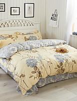 cheap -Duvet Cover Sets Geometric 100% Cotton Reactive Print 3 Piece