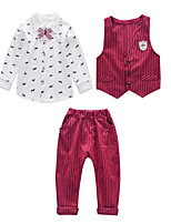 cheap -Kids Boys' Striped Long Sleeve Clothing Set