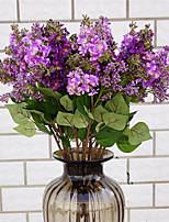 Недорогие -Искусственные Цветы 1 Филиал Классический Стиль / европейский Сирень Букеты на стол