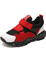Недорогие -Мальчики Обувь Сетка Наступила зима Удобная обувь Кеды Для прогулок для Дети Черный / Серый / Красный