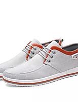cheap -Men's Canvas Summer Comfort Sneakers Black / Gray / Blue