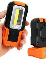 Недорогие -LED подсветка Светодиодная лампа 200 lm Портативные Оранжевый Походы / туризм / спелеология