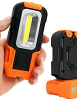 cheap -LED Light LED 200 lm Portable Orange Camping / Hiking / Caving