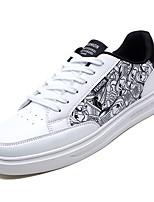 cheap -Men's PU(Polyurethane) Fall Comfort Sneakers White / Black / Red