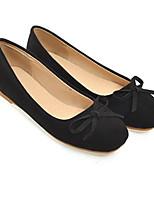 Недорогие -Жен. Обувь Полиуретан Весна Удобная обувь На плокой подошве На плоской подошве Черный / Желтый / Розовый
