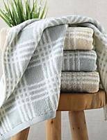 Недорогие -Высшее качество Полотенца для мытья, Геометрический принт 100% хлопок Ванная комната 1 pcs