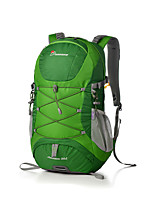 cheap -30 L Hiking Backpack - Breathability Outdoor Hiking, Travel Nylon Red, Green, Blue