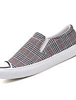 cheap -Men's Comfort Shoes Polyester Fall Loafers & Slip-Ons Color Block Red / Blue