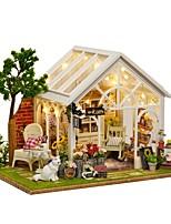 Недорогие -Кукольный домик обожаемый / Милый / утонченный Романтика Современный Кошка 1 pcs Куски Детские / Взрослые Подарок