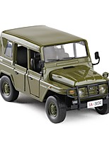 cheap -Toy Car Military Vehicle Police car Military New Design Metal Alloy Child's Teenager All Boys' Girls' Toy Gift 1 pcs