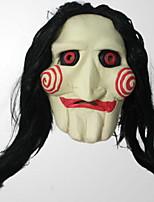 Недорогие -Праздничные украшения Украшения для Хэллоуина Маски на Хэллоуин / Хэллоуин Развлекательный Декоративная / Cool Светло-желтый 1шт