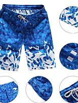 economico -Per uomo Costume nuoto a pantaloncino / Pantaloncini da mare Ultra leggero (UL), Asciugatura rapida, Traspirante Poliestere Costumi da bagno Abbigliamento mare Costume nuoto a pantaloncino Nuoto