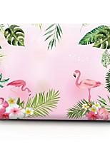 """Недорогие -MacBook Кейс Фламинго пластик для Новый MacBook Pro 15"""" / Новый MacBook Pro 13"""" / MacBook Pro, 15 дюймов"""