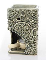Недорогие -Европейский стиль Керамика Подсвечники Канделябр 1шт, Свеча / подсвечник