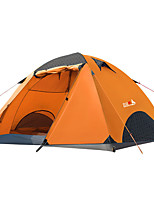 cheap -BSwolf 2 person Family Tent Double Layered Poled Camping Tent One Room  Outdoor Rain-Proof >3000 mm  for Fishing Oxford Cloth 210*140*120 cm