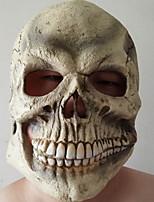 Недорогие -Праздничные украшения Украшения для Хэллоуина Маски на Хэллоуин / Хэллоуин Развлекательный Декоративная / Cool Бежевый 1шт