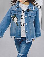 economico -Bambino Da ragazza Fantasia floreale Manica lunga Completo e giacca