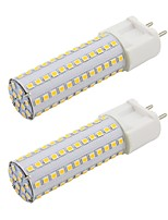 preiswerte -2pcs 9 W 820 lm G12 LED Doppel-Pin Leuchten T 108 LED-Perlen SMD 2835 Neues Design Warmes Weiß / Kühles Weiß 85-265 V