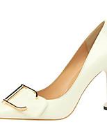 Недорогие -Жен. Комфортная обувь Полиуретан Весна / Осень Обувь на каблуках На шпильке Черный / Красный / Розовый