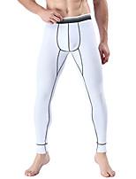 preiswerte -Herrn Normal Polyester Sanfte Berührung Lange Unterhosen Solide Mittlere Taillenlinie